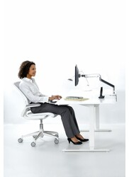 Monitorarm_m2_silver - humanscale